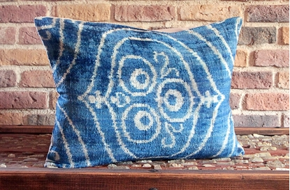 Picture of Velvet Cushion Cover  - Turkish Velvet Decorative Pillow Cover