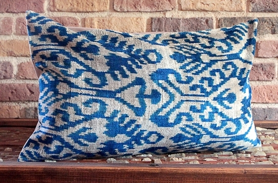 Hand-cut Silk Velvet Pillow Cover