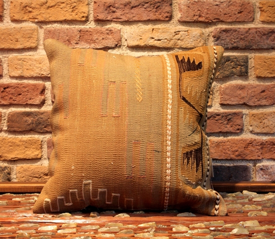 Picture of Vintage Turkih Kilim Rug Pillow