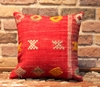Vintage Kilim Pillow Cover - Semi old Turkish Kilim Pillow