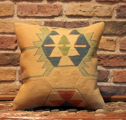 Handmade Vintage Kilim Pillow Cover