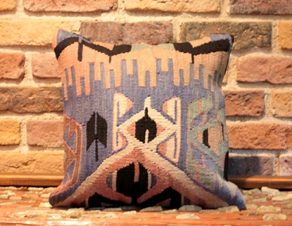 Handmade kilim pillow  cover - ernemet.com