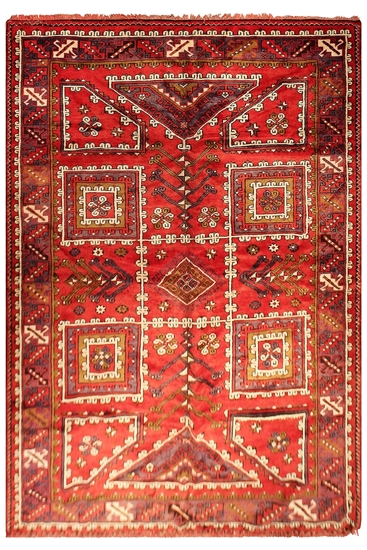Anatolian Vintage Turkish Rug