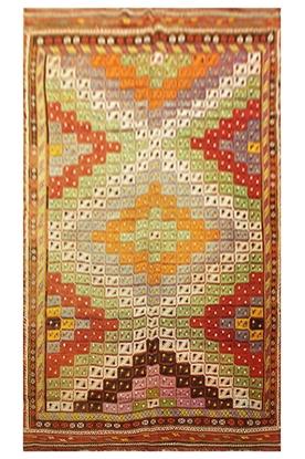 Hand-woven Cicim Turkish Kilim - Anatolia Kilim - Ernemet.com